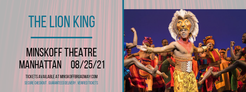 The Lion King [CANCELLED] at Minskoff Theatre
